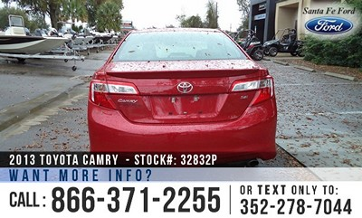 image Toyota Camry Gainesville Fl Exit #399 on I-75