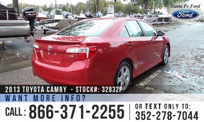 Toyota Camry for Sale! 1-866-371-2255
