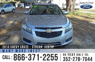 image of Chevy Cruze FWD Sedan