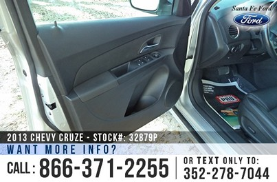 Chevrolet Cruze for Sale! 1-866-371-2255