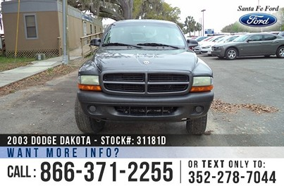 image of Dodge Dakota 4WD Truck