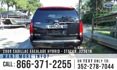 Cadillac Escalade for Sale! 1-866-371-2255
