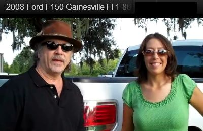 Randy and Jen with Ford F-150 (F150) Gainesville Fl