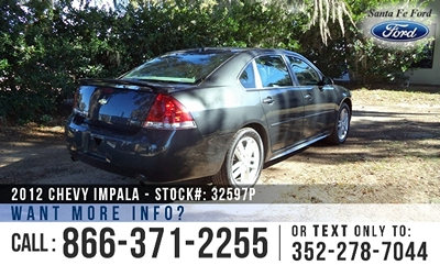 Chevrolet Impala for Sale! 1-866-371-2255