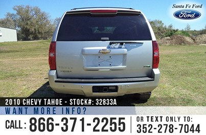 image Chevy Tahoe Rear Wheel Drive