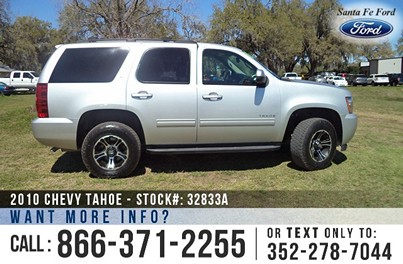 Chevy Tahoe for Sale! 1-866-371-2255
