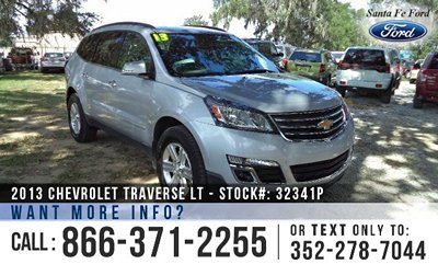 image of Chevy Traverse FWD SUV