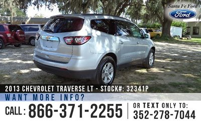 Chevrolet Traverse for Sale! 1-866-371-2255