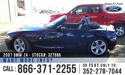 BMW Z4 30i - Gas I6 3.0L/183 Engine for sale near Gainesville
