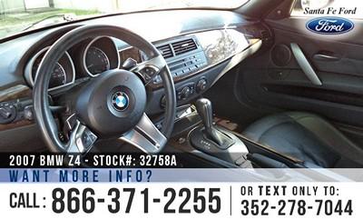 BMW Z4 for Sale! 1-866-371-2255
