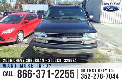 Chevrolet Suburban Gainesville Fl FOR SALE (866) 371-2255
